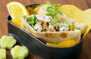Moroccan chicken pockets - 30 packed lunch ideas