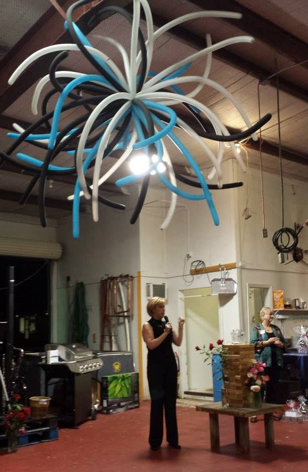 ... Balloon Chandelier - Meals on Wheels Denton ...