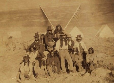 Captain Buck's Shoshones-Ruby Valley, Nevada., July, 1868. By 1637, Massachusetts governor John Winthrop ordered the massacre of thousands of Pequot Indian men, women and children. This event marked the start of a Native-American genocide that would take slightly more than 200 years to complete.