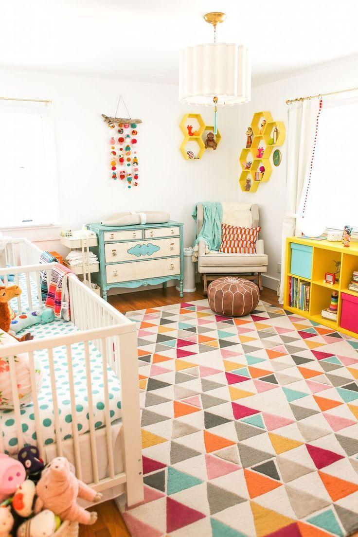 colorful twin nursery nursery inspiration pinterest twin