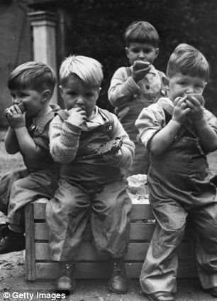Children's diets worse today than in wartime: And now ...