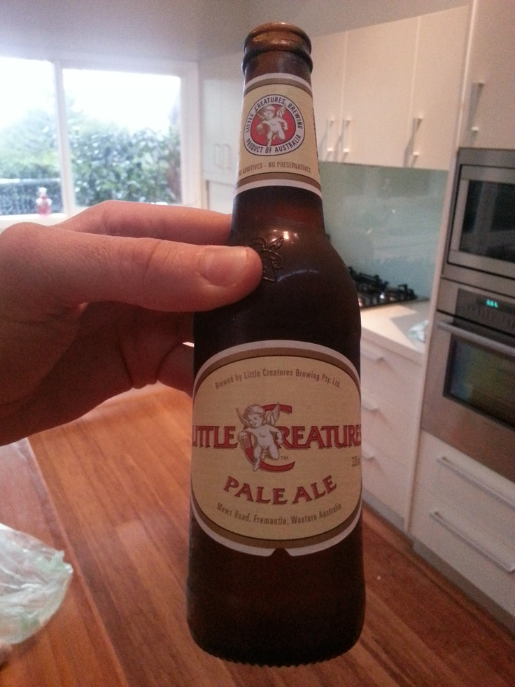 Little Creates Pale Ale (Fremantle, Australia) - One of the finest drops in the universe (known and unknown!).