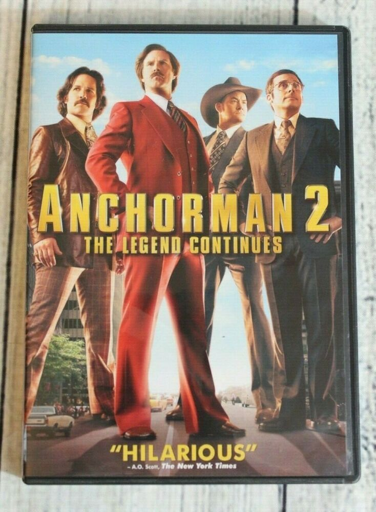 Anchorman 2 the legend continues dvd 2014 for sale