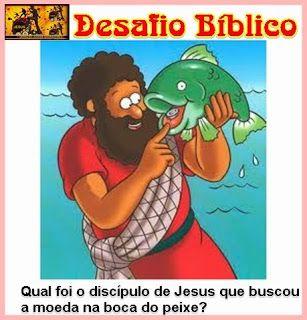 Resposta: Foi Pedro - Mateus 17.24 ao 27
