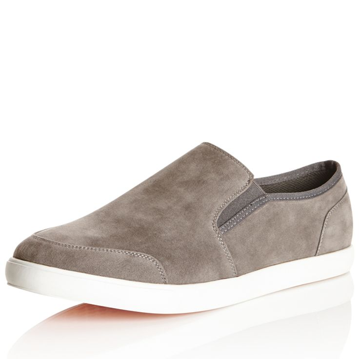 7567MCAS - Rivers Australia. Conroy Casual Slip-On  NOW $27.00 (24.12.15) (WAS $45.00) (19 Jan 16 = $22.50).7567MCAS in Charcoal  Elastic panels allows for ease of entry and movement. Padded inner sole for adddtional comfort.  MATERIAL(S):  SIZE CHART  RETURNS AVAILABLE IN: 7, 8, 9, 10, 11, 12.