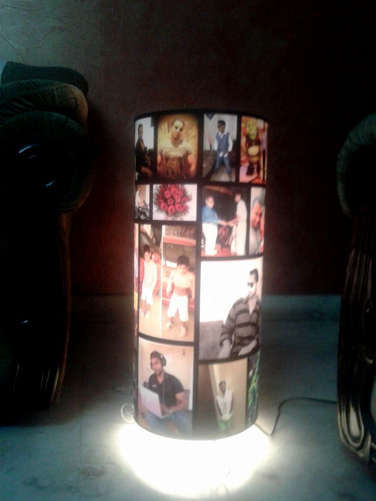 Personalized Big Photo Lamp (25 Inch)