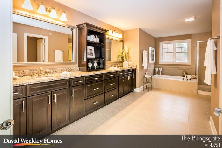 What couple wouldn 39 t love this huge owner 39 s bath in the for Bathroom designs 2016 uk