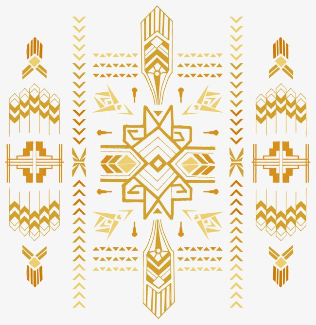 Golden Art Deco Decorative Elements Gold Classical Background Png Transparent Clipart Image And Psd File For Free Download Art Deco Art Deco