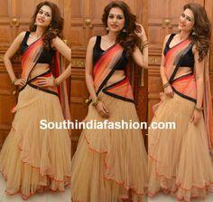 Shraddha Das in Trisha Trends Lehenga