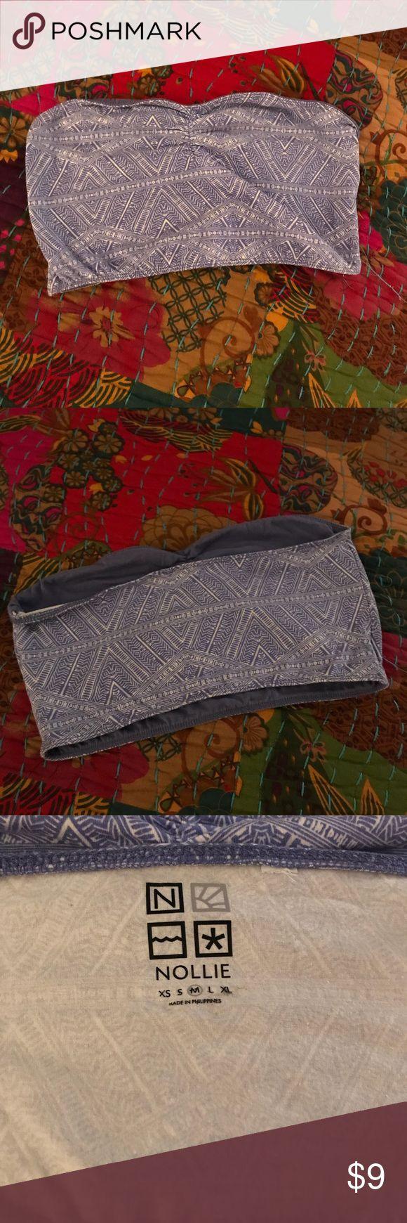 Pacsun bandeau printed bandeau, perfect condition PacSun Intimates & Sleepwear Bandeaus