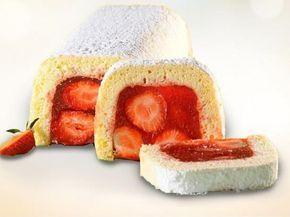 Jedinečný jahodový koláč
