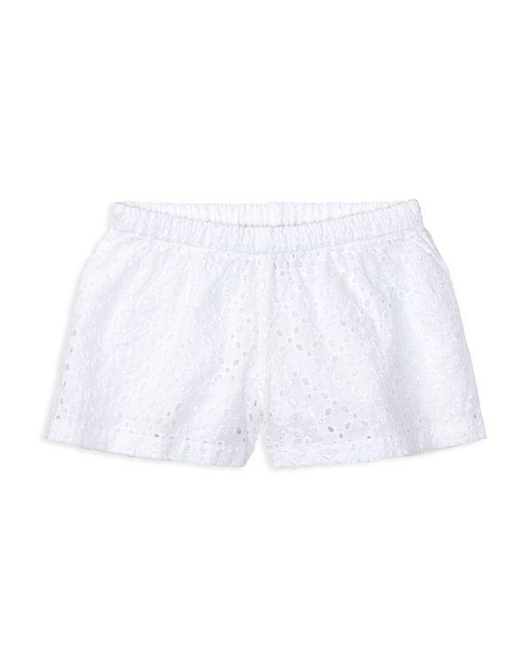 Ralph Lauren Childrenswear Girls' Eyelet Shorts - Sizes 2-6X