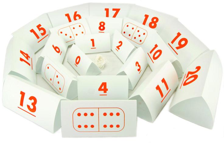 De Met Sprongen Vooruit kaartenlijn. Handig, want de driehoeken kun je in elkaar schuiven!