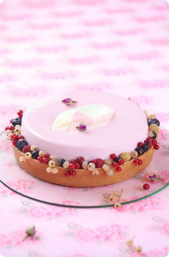 "Verdade de sabor: Торт ""Розовая симфония"" / Torta ""Sinfonia Rosa"""