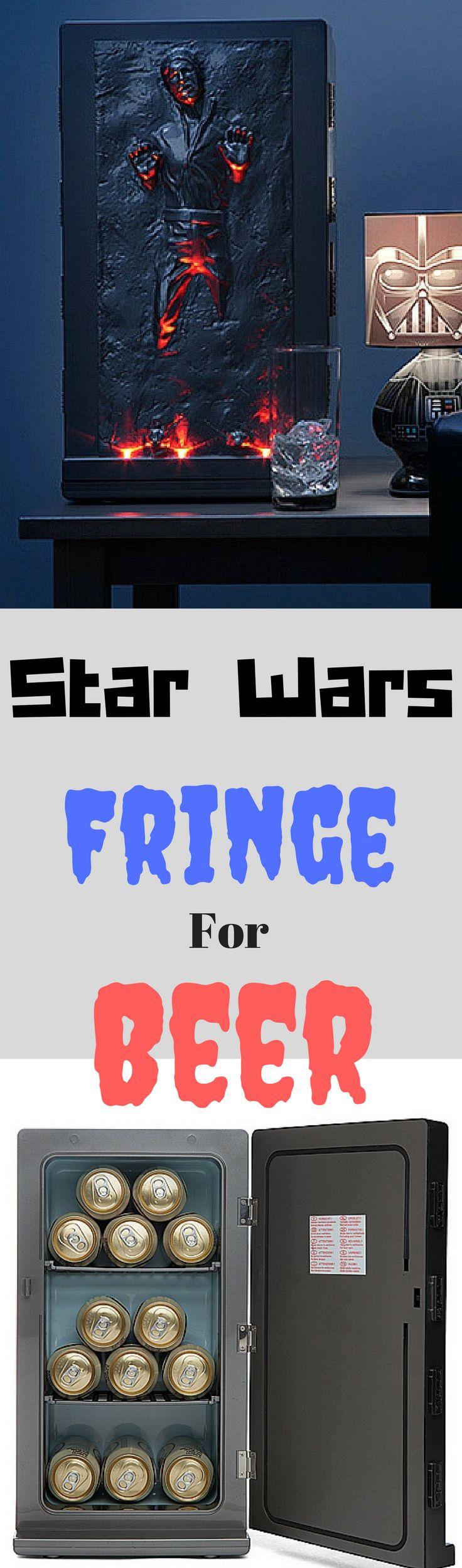 Star Wars Han Solo Fridge For Beer #starwars #hansolo #fringe #beer