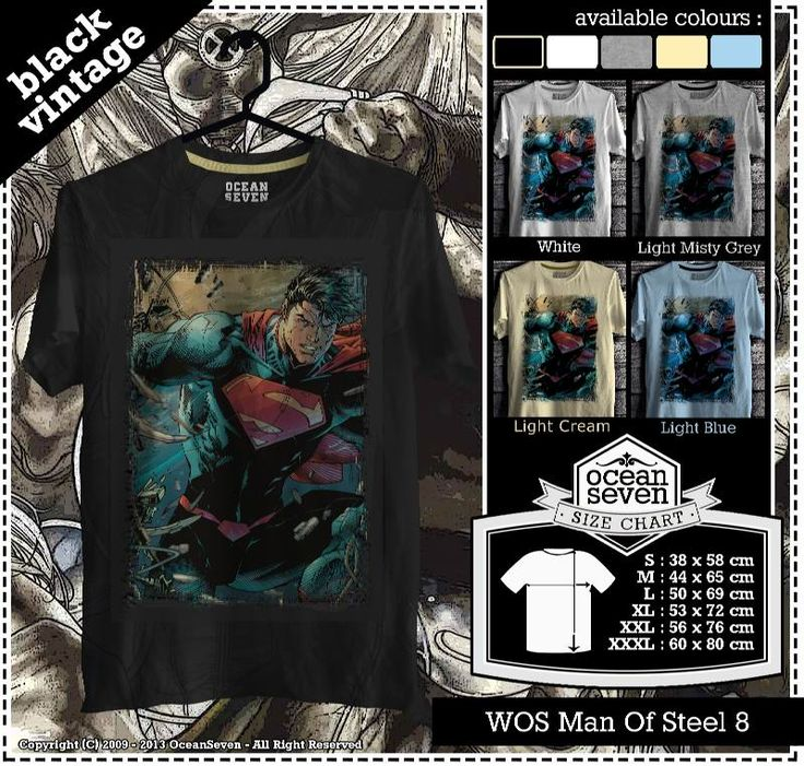 Kaos Man Of Steel Series 2