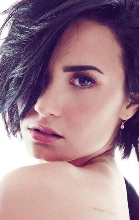 Demi Lovato on the cover of cosmopolitan - September 2015. She's come a long way and she's never looked better
