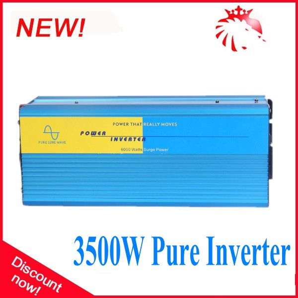 Great quality off grid solar power 48vdc to 230Vac inverter 3500W with pure sine wave #Affiliate