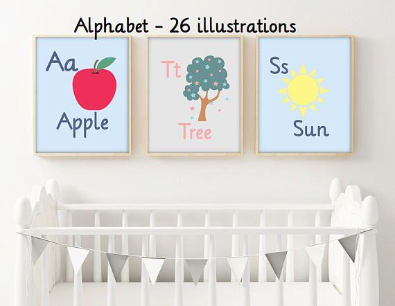 abecedario ingles abecedario infantil letras