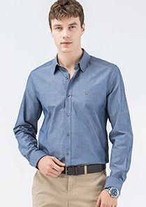 Lacoste Koyu Mavi  Gömlek