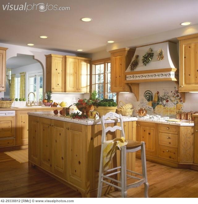 Natural Pine Kitchen Cabinets: 1000+ Images About Ceramic Tile Countertops On Pinterest