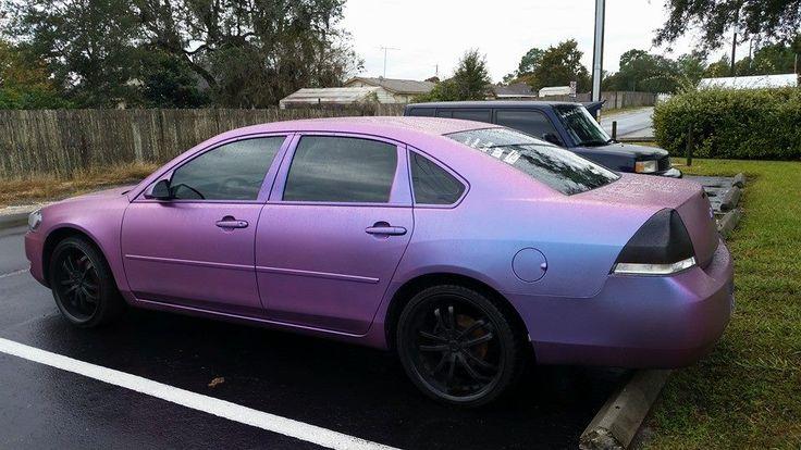 plastidip | 2008 Impala Plasti Dipped Iris Violet/Punch Chameleon - Chevy Impala ...