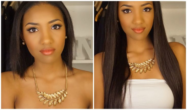 How I: Clip In My Hair Extensions (For Short + Thin Hair) | Naomi Chanel...