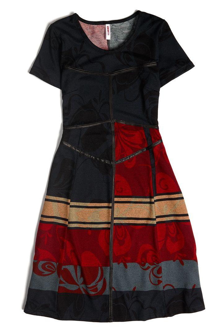 Robe d'automne #ModeLeGrenier #CollectionAutomneHiver #Oenologie #Robe