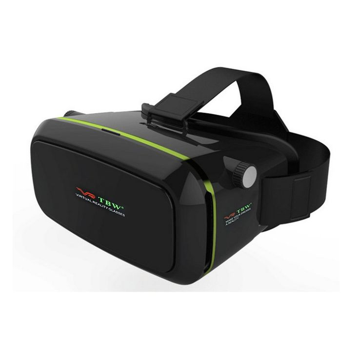 3D VR Virtual Reality Headset Video Glasses Box with Adjustable Lens and Strap For iPhone 6/6 Plus 6S/6S PlusSamsung Note LG Huawei HTC Smart Phone