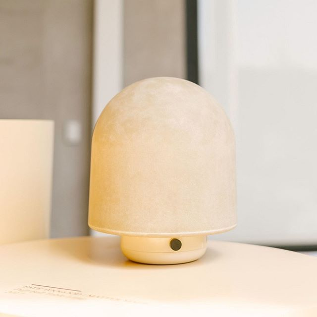 Puffball Table Lamp By T O O G O O D At The Ado Neotenic Design Show Curated By Jumbo Nyc Table Lamp Lamp Design Show