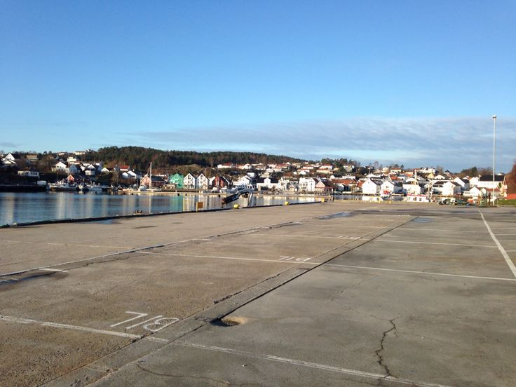 Lillesand harbor in late November 2014