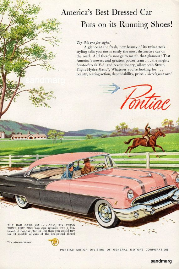 Great old Pontiac Ad.