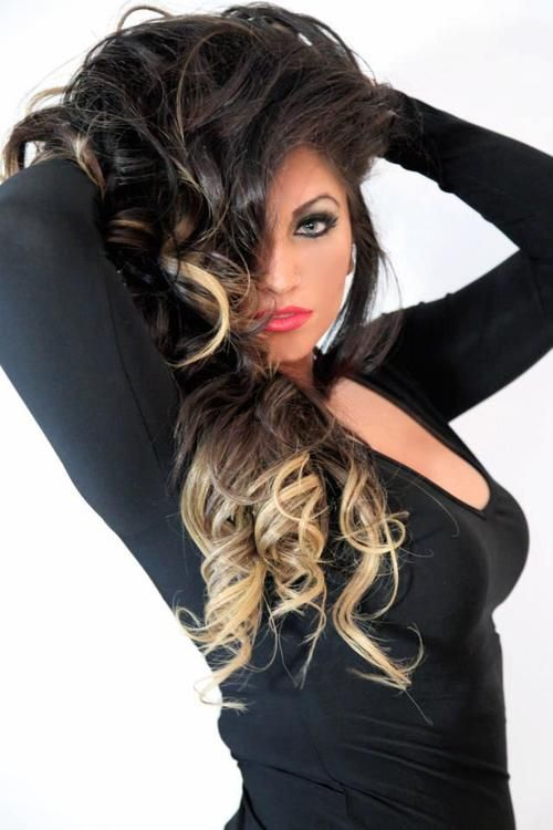 tracy dimarco ombre hair