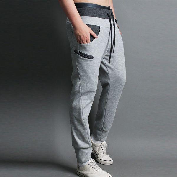 FreeShipping Sports Mens Jogging Training Pants Man Boys Skinny Pencil Trousers Sweatpants SP0298 DropShipping $16.99