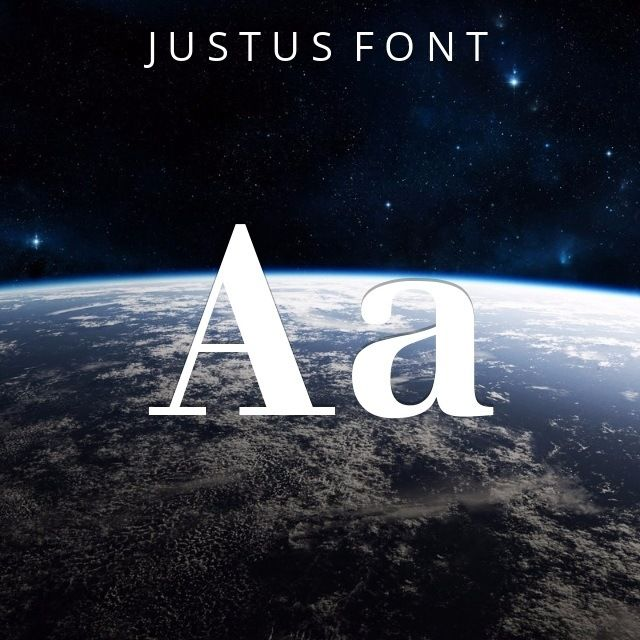 #slabserif #fonts #download - Justus Font  by Khunrath: A slab serif font with a modern twist, Justus  was designed by digital professional, typographer and creative expert Khunrath. This free truetype font can be used online. #font #typography #design #inspiration via @thefontex
