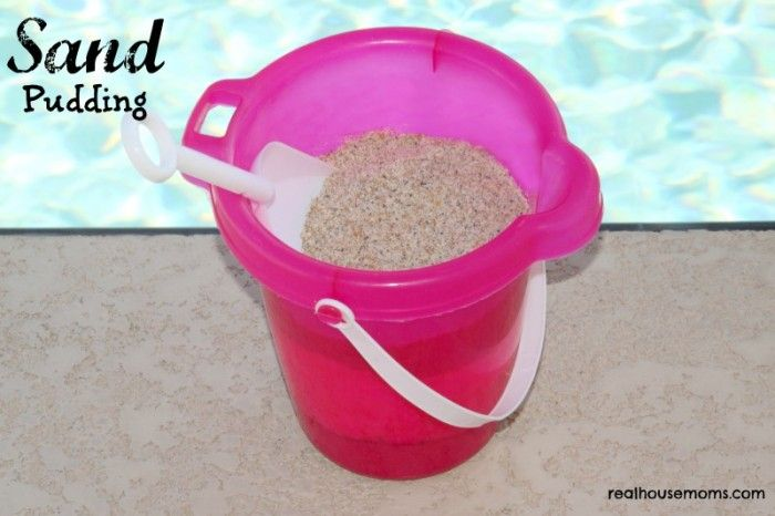 """sand pudding recipie.  use with """"how to make sand pudding"""" writing"""