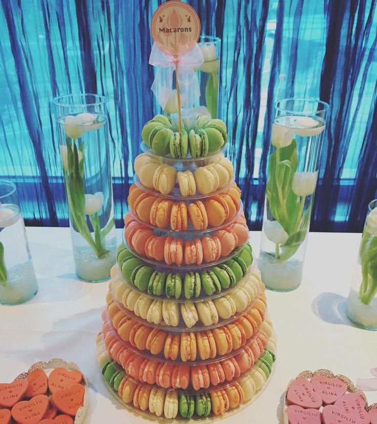 Macarons tower