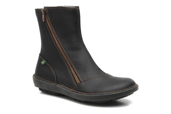 El Naturalista Runas N193 Zwart - Boots en enkellaarsjes bij Sarenza.be (139696)
