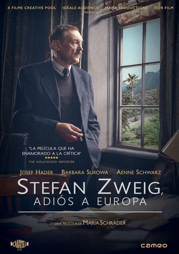 Stefan Zweig, adiós a Europa (DVD) / de Maria Schrader.  Cameo, 2017. Stefan Zweig foi un dos personaxes máis irrepetibles do século XX. Escritor, biógrafo e activista social, este intelectual austriaco e xudeu viuse obrigado a fuxir do seu país debido ao réxime nazi. Na súa fuxida cara a adiante, refuxiouse en París primeiro e, máis tarde, en Londres, pero Zweig acabou fuxindo de Europa xunto á súa esposa a Sudamérica, instalándose finalmente en Brasil, onde acabará […]