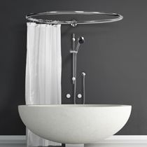 Delightful Circular Shower Curtains   Google Search