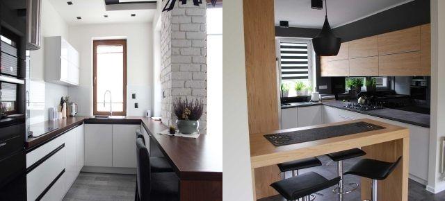 Znalezione obrazy dla zapytania mała kuchnia z oknem