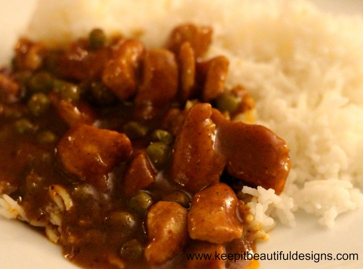 Chinese Chicken Curry. Delicious!