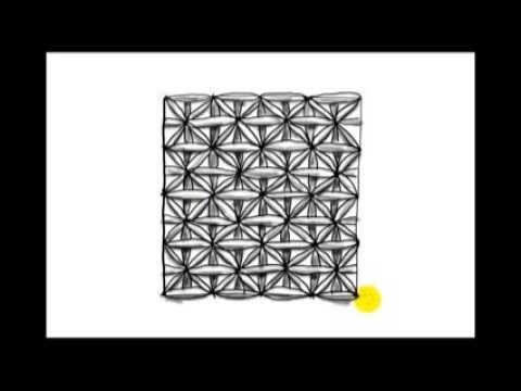 ▶ Zentangle Patterns | Tangle Patterns? - False Fife Two - YouTube