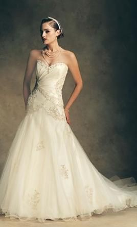 New With Tags Rina di Montella  Wedding Dress RB1709, Size 10    Get a designer gown for (much!) less on PreOwnedWeddingDresses.com