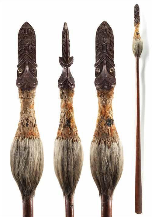 Two-handed weapons: taiaha – Mau rākau – Māori use of weaponry ...