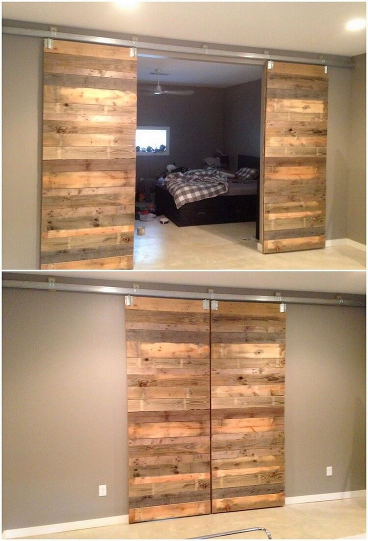 Want to make your house look attractive from inside? Well, here comes the appealing idea of the pallet sliding doors add inside your house right now. Pallet sliding door designing do require the pallet stacking arrangement over one another that not just look modish but sophisticated too.