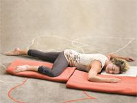 When restorative yoga doesn't feel relaxing. Reverse corpse pose savasana. Use this restorative yoga practice to let go and reinvigorate yourself.