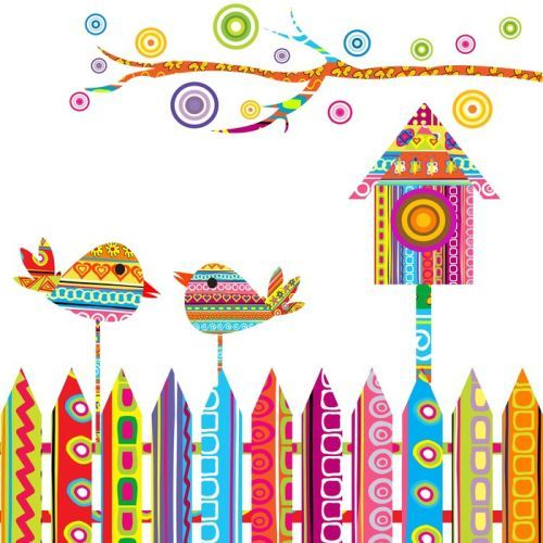 Brighten up your playroom walls - 'Fun Gardens' art print on sale now! #WallArtPrints #Kids #Art