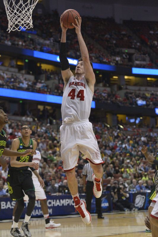 Frank Kaminsky - From JSO  Photo Gallery:  No. 2 Wisconsin 69, No. 6 Baylor 52