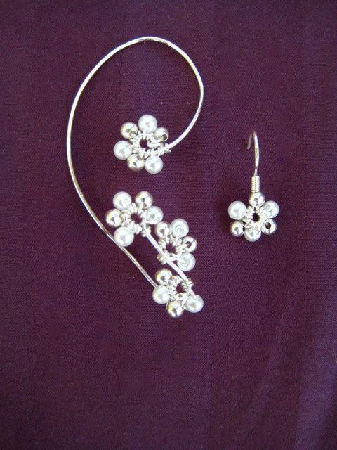 Hunger Games Inspired Bridal Ear Wrap by kjeel on Etsy